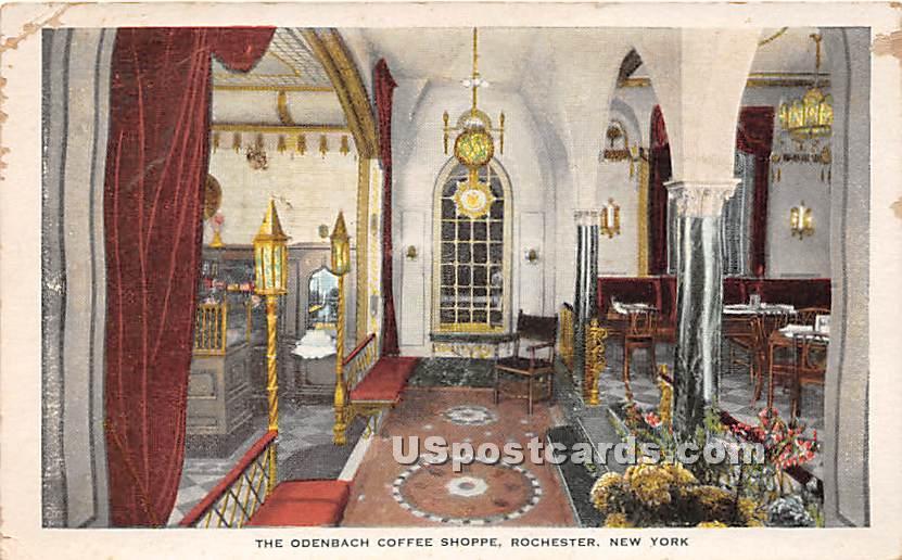 Odenbach Coffee Shoppe - Rochester, New York NY Postcard