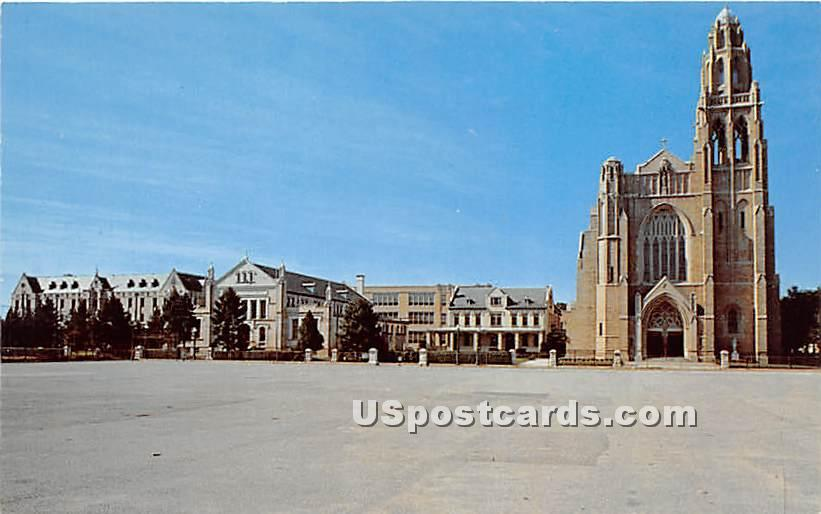 St Agnes Cathedral - Rockville Centre, New York NY Postcard