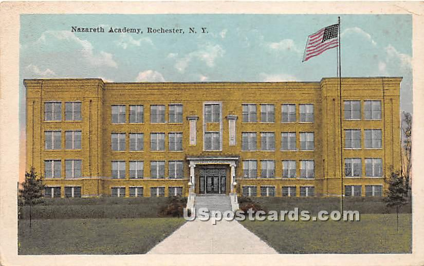 Nazareth Academy - Rochester, New York NY Postcard