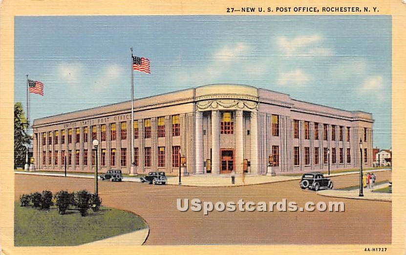 New US Post Office - Rochester, New York NY Postcard