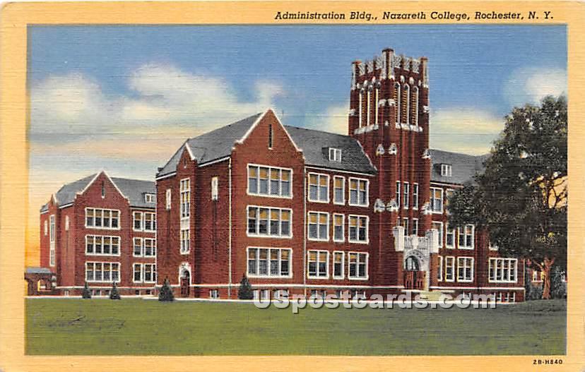 Nazareth College - Rochester, New York NY Postcard