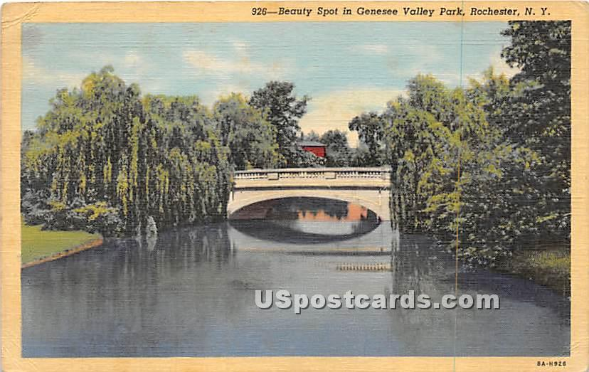 Genesee Valley Park - Rochester, New York NY Postcard