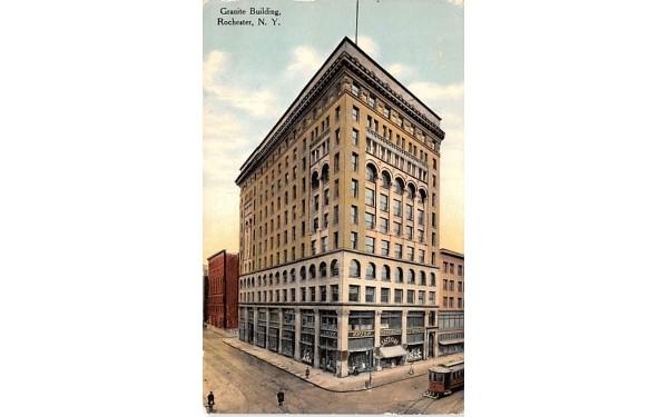 Granite Building Rochester, New York Postcard