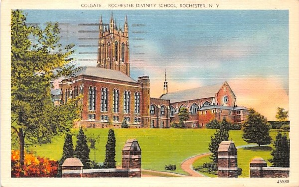 Colgate Rochester, New York Postcard