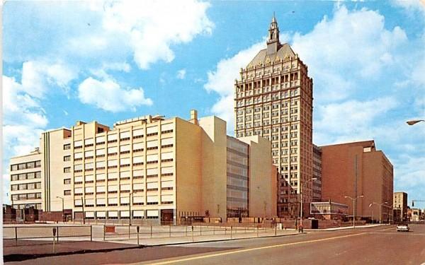 Kodak Office Tower Rochester, New York Postcard