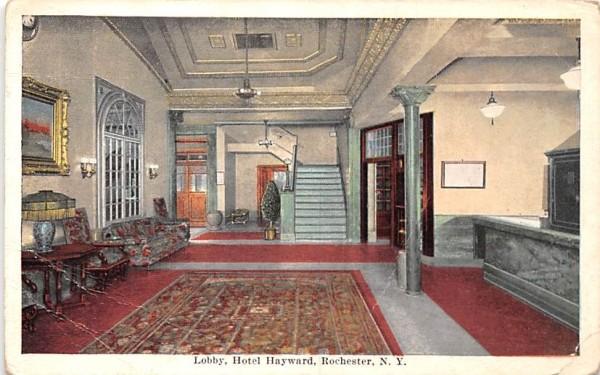 Hotel Hayward Rochester, New York Postcard