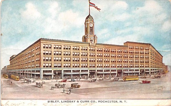 Sibley, Lindsay & Curr Co Rochester, New York Postcard