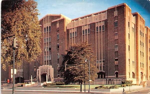 Masonic Auditorium Rochester, New York Postcard