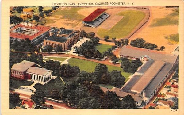 Edgerton Park Rochester, New York Postcard