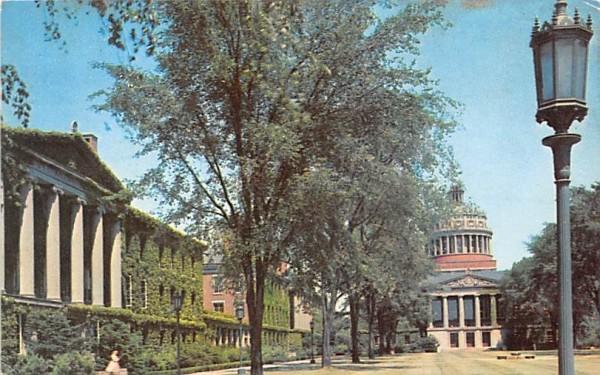 Quadrangle at the University of Rochester New York Postcard