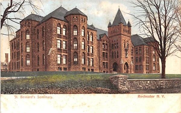St Bernard's Seminary Rochester, New York Postcard