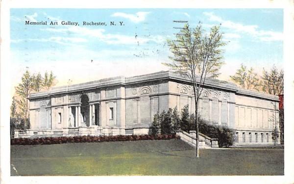 Memorial Art Gallery Rochester, New York Postcard