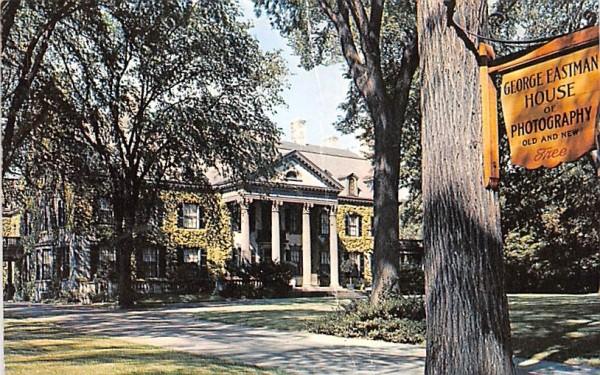 George Eastman House Rochester, New York Postcard