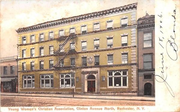 Young Women's Christian Association Rochester, New York Postcard