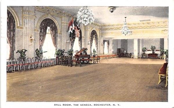 Ball Room Rochester, New York Postcard