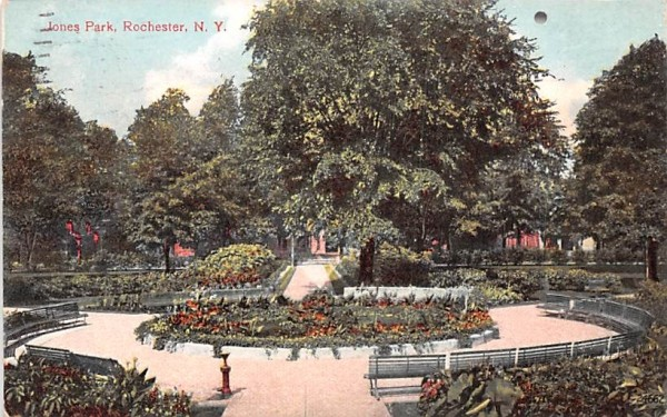 Jones Park Rochester, New York Postcard