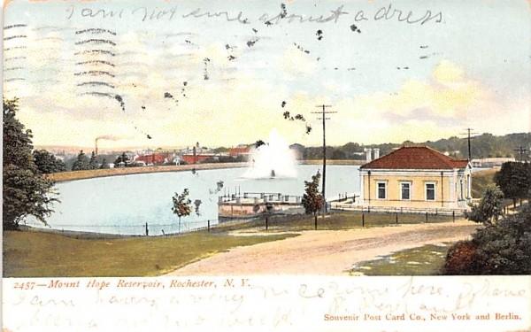 Mount Hope Reservoir Rochester, New York Postcard