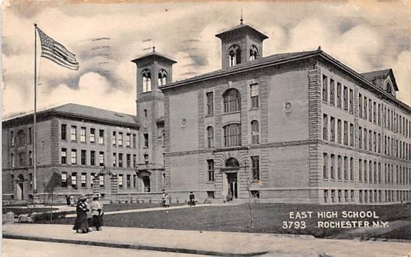 East High School Rochester, New York Postcard