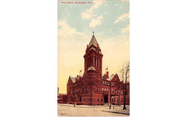 Post Office Rochester, New York Postcard