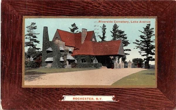 Riverside Cemetery Rochester, New York Postcard