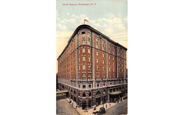 Hotel Seneca Rochester, New York Postcard