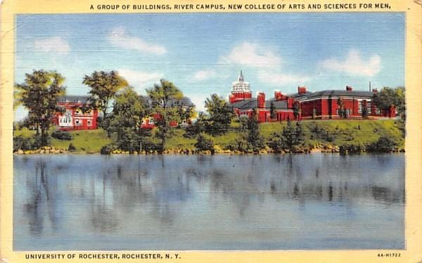 River Campus Rochester, New York Postcard