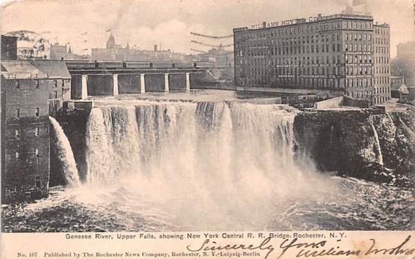 Genesee River Rochester, New York Postcard