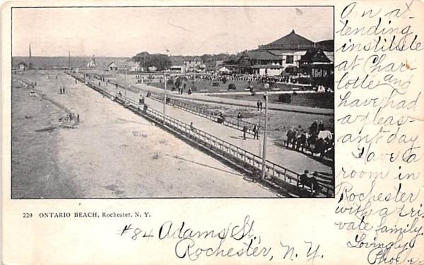 Ontario Beach Rochester, New York Postcard