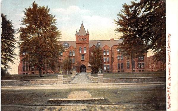 St Bernards Catholic Seminary Rochester, New York Postcard