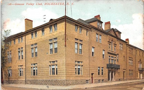 Genesee Valley Club Rochester, New York Postcard