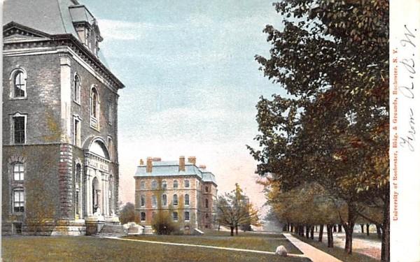 University of Rochester New York Postcard