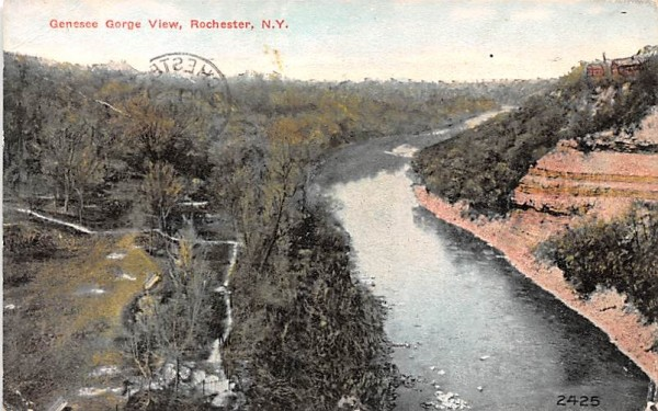 Genesee Gorge Rochester, New York Postcard