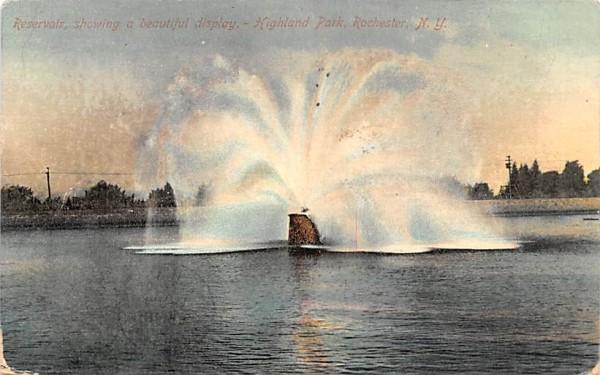 Reservoir Rochester, New York Postcard