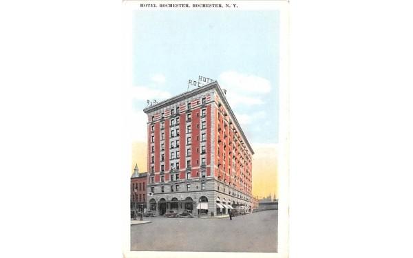 Hotel Rochester New York Postcard
