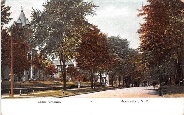 Lake Avenue Rochester, New York Postcard