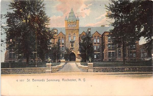 St Bernards Seminary Rochester, New York Postcard