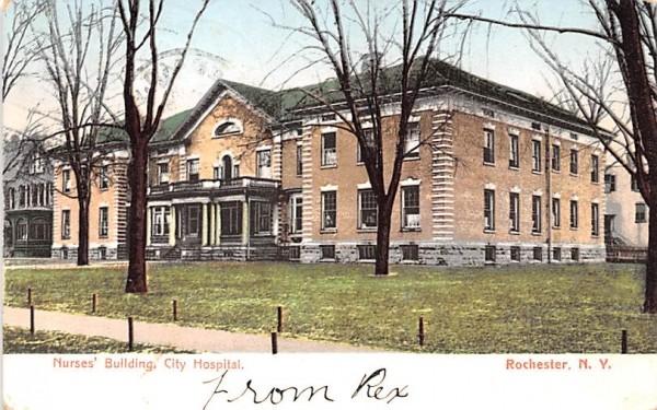 Nurses' Building Rochester, New York Postcard