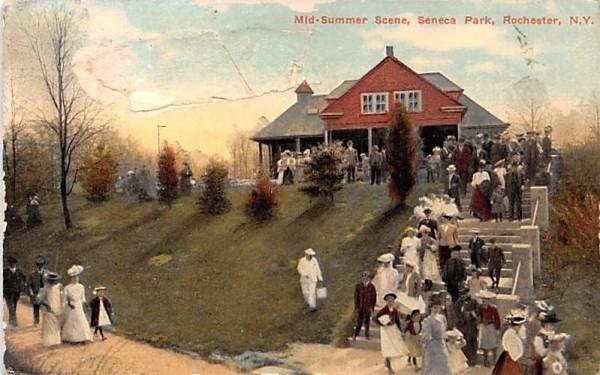 Mid Summer Scene Rochester, New York Postcard