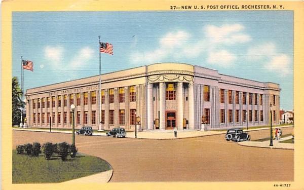 New US Post Office Rochester, New York Postcard