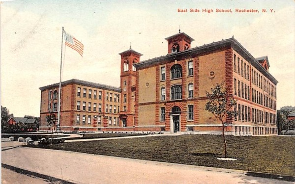East Side High School Rochester, New York Postcard