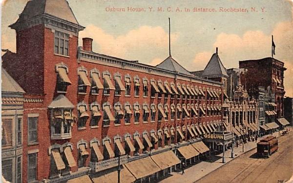 Osburn House Rochester, New York Postcard