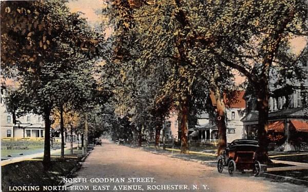 North Goodman Street Rochester, New York Postcard