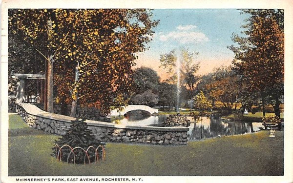McInnerney's Park Rochester, New York Postcard