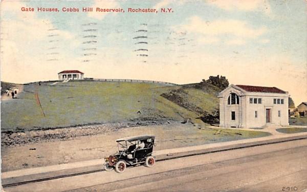 Gate Houses Rochester, New York Postcard