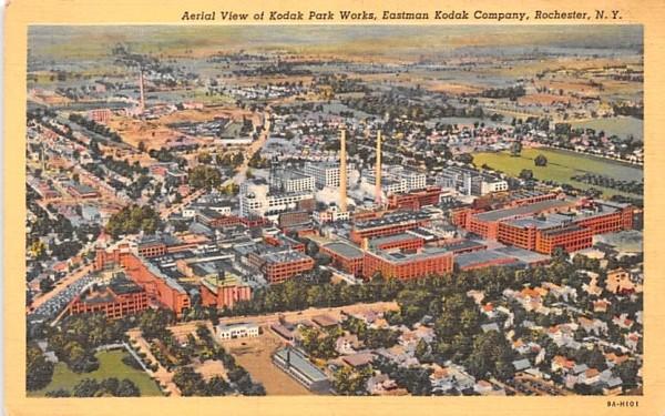 Kodak Park Works Rochester, New York Postcard