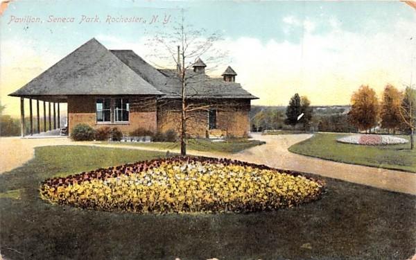Pavilion Rochester, New York Postcard