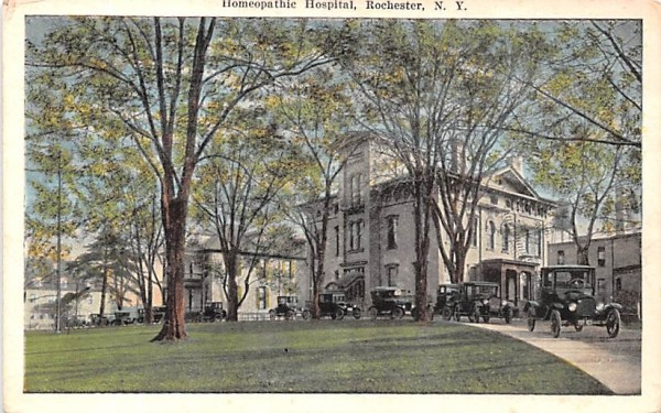 Homeopathic Hospital Rochester, New York Postcard
