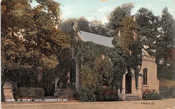 Chapel in Mount Hope Rochester, New York Postcard