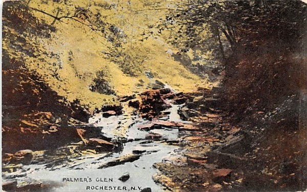 Palmer's Glen Rochester, New York Postcard