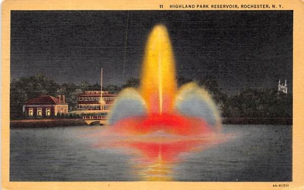 Highland Park Rochester, New York Postcard